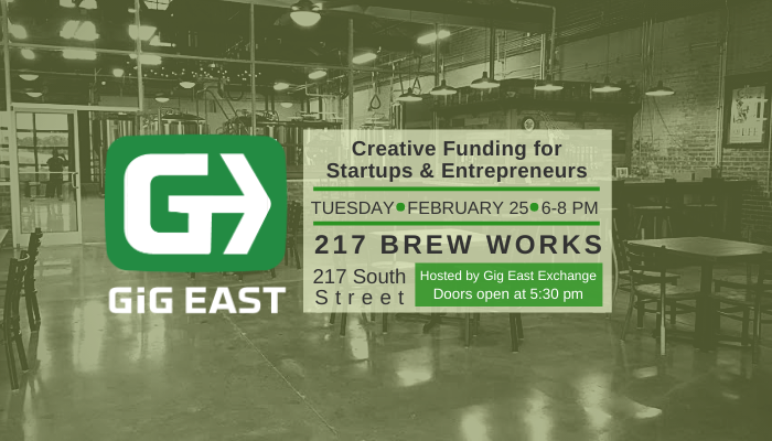 event details for creative funding meetup